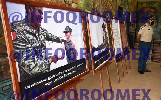Exposicion de la Fuerza Armada llega a JMM