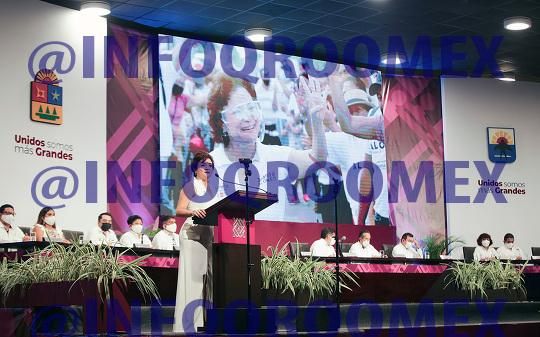 Juanita Alonso asume la Presidencia de Cozumel