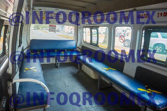 Reactivacion del  transporte publico en Cozumel